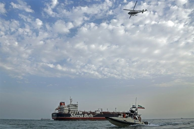 Part of Swedish tanker crew seized by Iran released: Stockholm