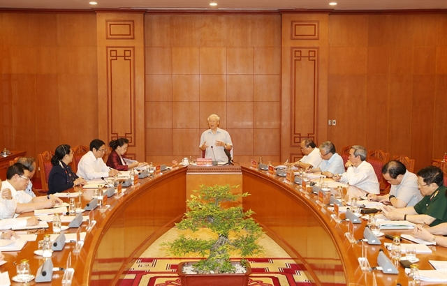 Party chief chairs meeting of sub-committee on 13th Party Congress documents