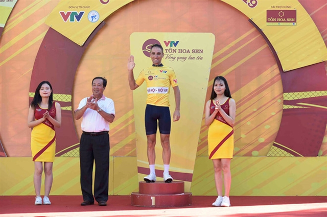 Desriac Loic takes overall yellow jersey of Tôn Hoa Sen Cup