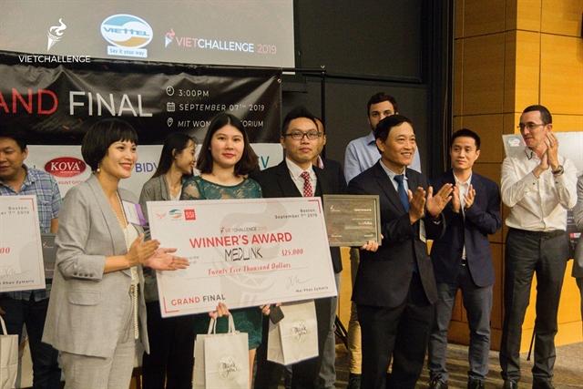 Vietnamese start-ups awarded in the US