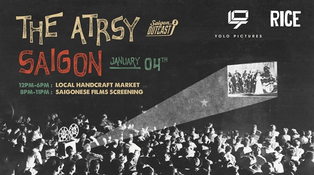 The Artsy Saigon to feature flea market films