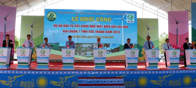 Work begins on Lạc Hòa wind power plant in Sóc Trăng