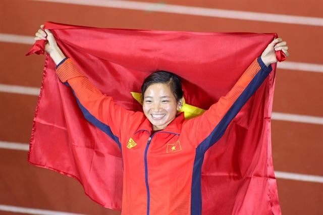 Runner Oanh voted Việt Nams top athlete