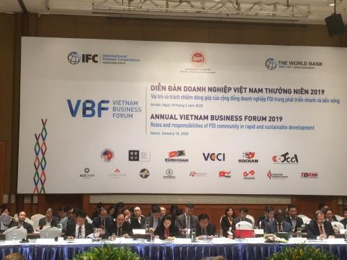 Vietnam Business Forum opens in Hà Nội on Friday