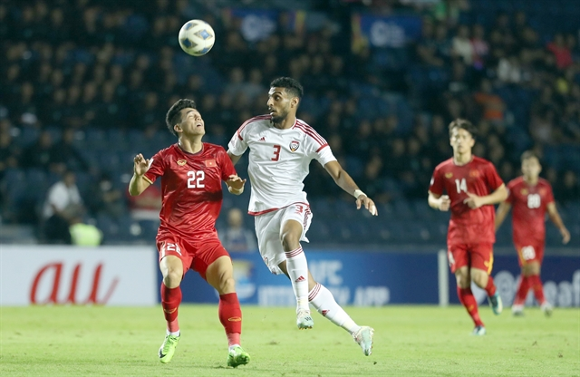 Việt Nam held by UAE in tournament opener