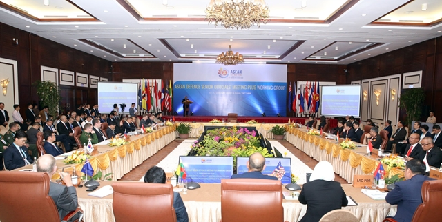 ASEAN members and partners discuss defence co-operation
