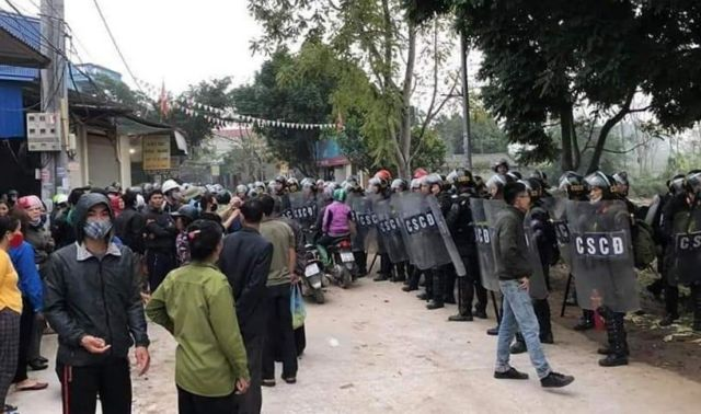 Riot leader Kình died holding a grenade: ministry