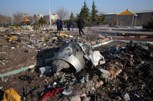 Iran says it unintentionally shot down Ukrainian plane due to human error
