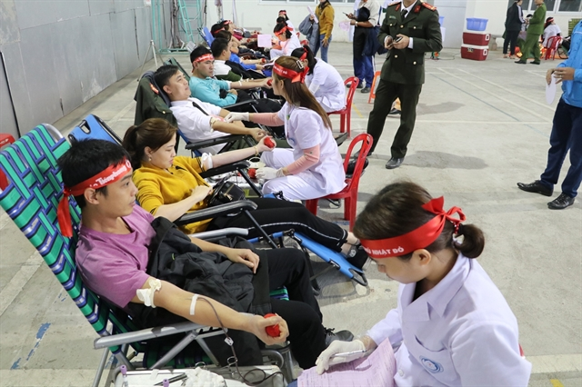 Blood drive held in Ninh Bình