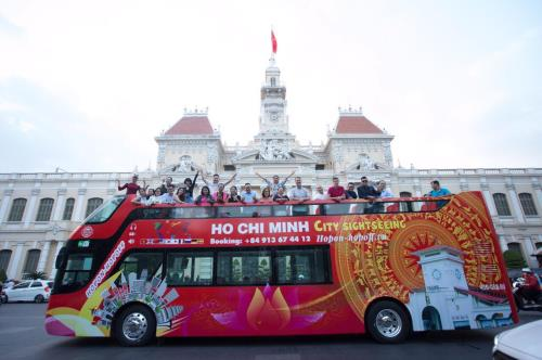 HCM City launches Hop On - Hop Off double-decker bus tour