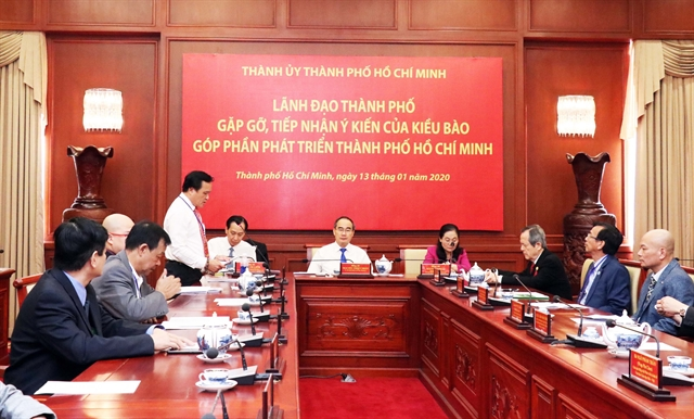 HCM City leaders praise overseas Vietnamese contributions