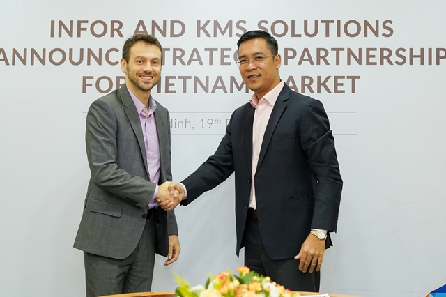 KMS Solutions ties up with USs Infor forwarehousing financial solutions