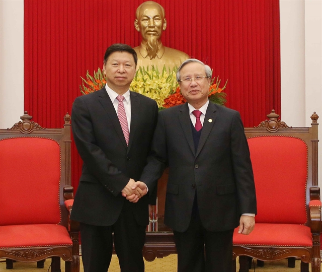 Việt Nam China should develop stable ties together: Party official