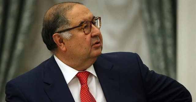 Usmanov steps up Everton ties with naming rights deal