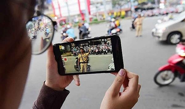 Citizens allowed to film traffic police from January 15