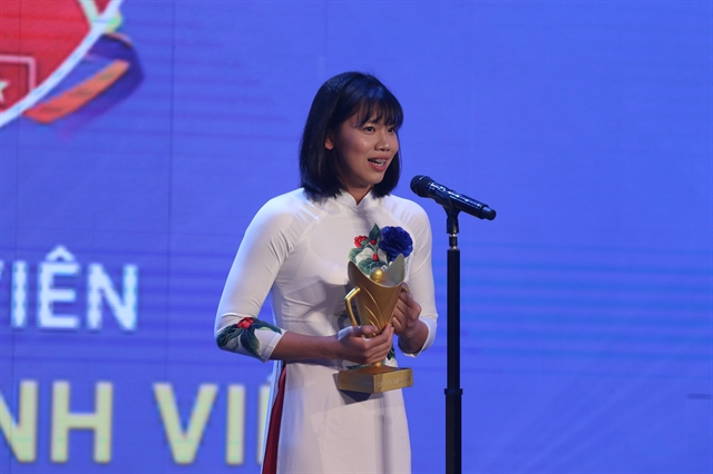 Swimmers Viên Hoàng are best athletes of 2019