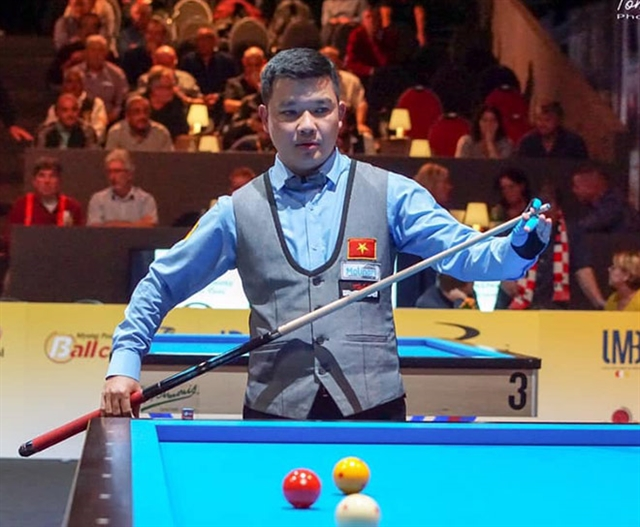 Chiến to take part in invitational 3-Cushion Survival Masters