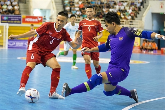 Việt Nam to face Tajikistan in AFC Futsal champs first match