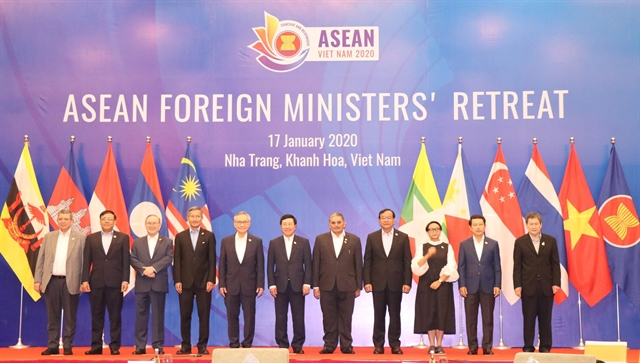 ASEAN Foreign Ministers retreat discuss 2020 plan