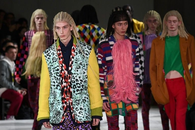 Row over white models in cornrow wigs at Paris fashion week