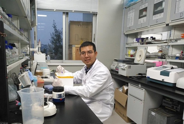 Young scientist behind more than 50 internationally-published scientific articles