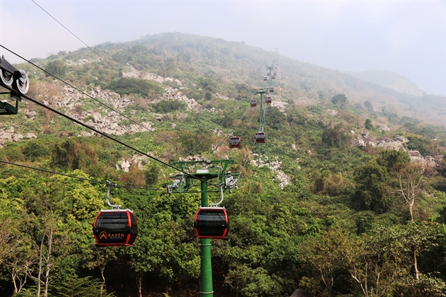 New cable caratBà ĐenMountainopens in Tây Ninh