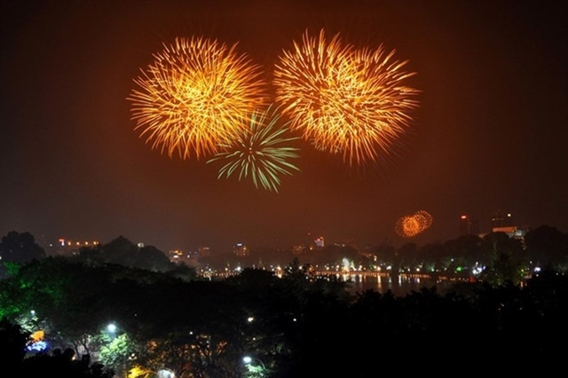 List of firework displays in Hà Nội