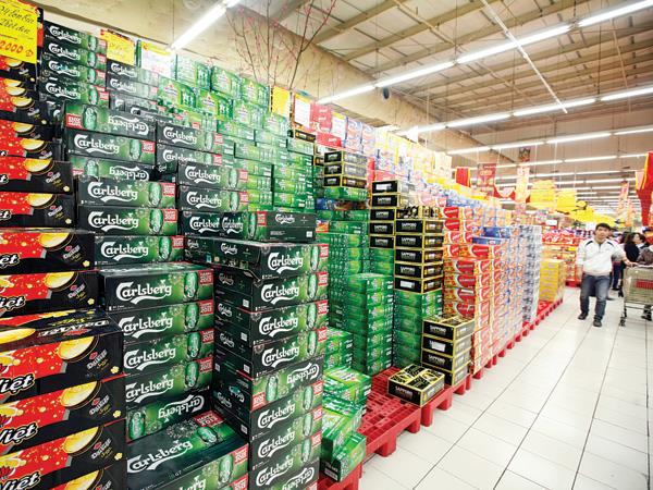 Beer sale drops badly in Tết