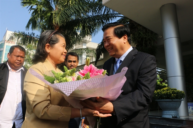 Cambodian Deputy Prime Minister pays Tết visit to Long An