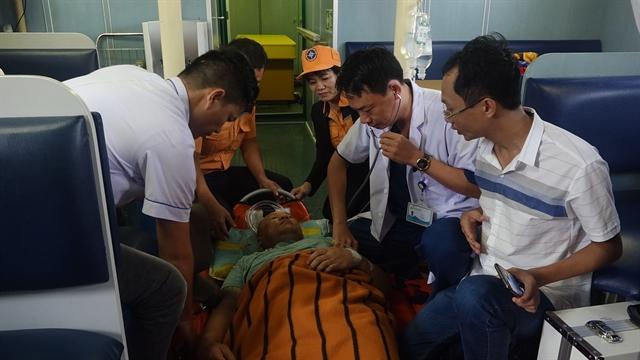 Thai sailor rescued off Đà Nẵng coast