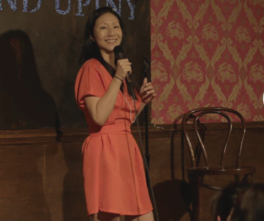 New York-based female comedian at Yoko Cafe