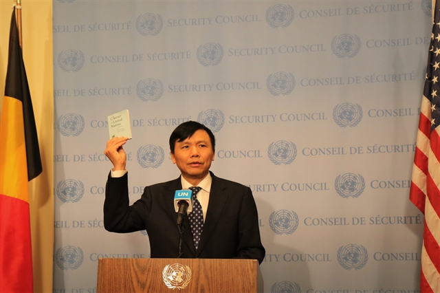 Việt Nam begins presidency of UN Security Council