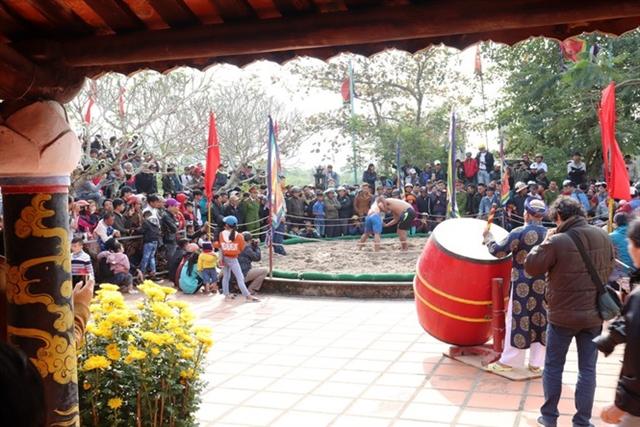 Traditional wrestling festival held