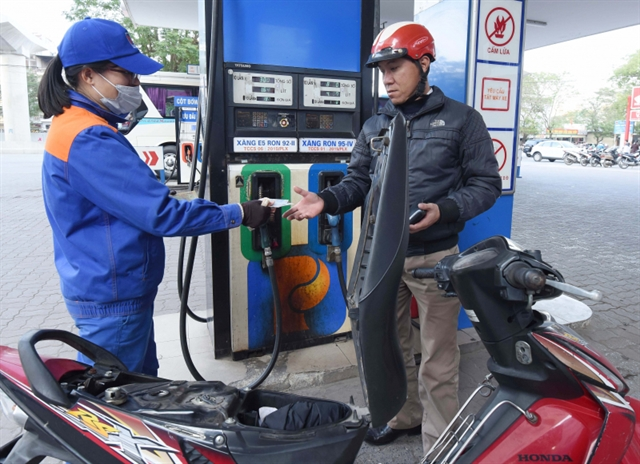 Petrol and oil prices fall sharply