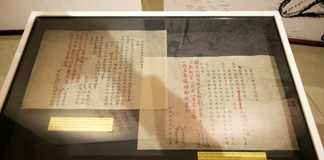 Exhibition reveals calligraphic art in kings writings