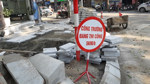 No more roadworks after January 10: Hà Nội authorities