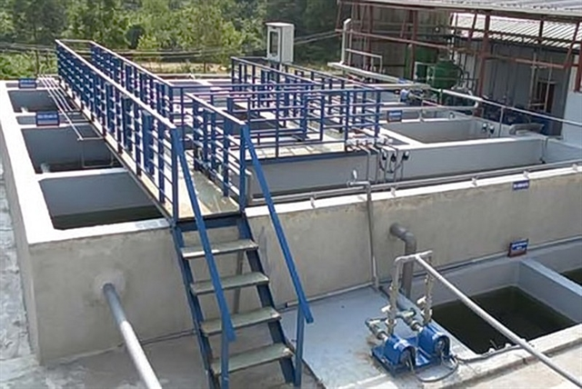 More than 120 million to be spent on Quảng Ngãi wastewater treatment system