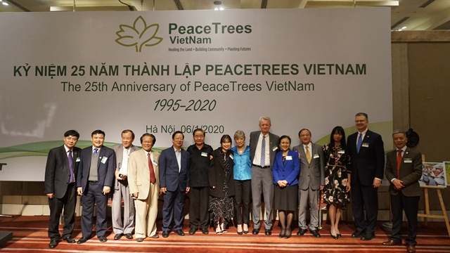 PeaceTrees Vietnam marks 25 years of UXO activities in VN