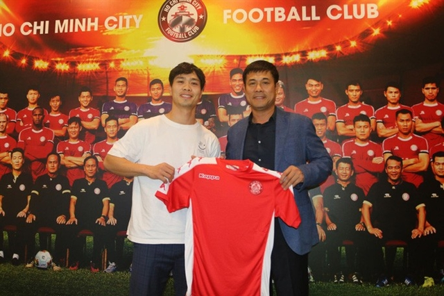 Phượng officially presented by HCM City FC