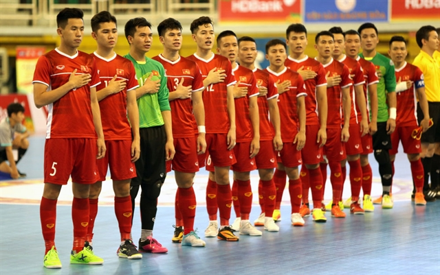 Việt Nam ready for AFC Futsal Championship 2020 finals
