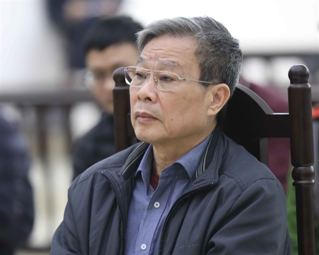 Former minister Son files appeal against life sentence
