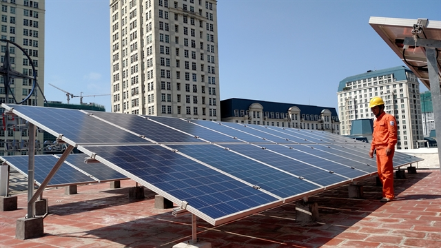 EVN continues buying power from rooftop solar projects