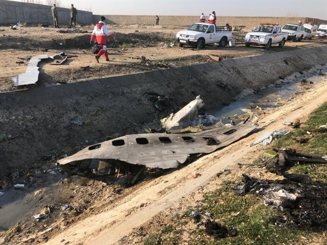 All 170 aboard crashed Ukrainian jet dead: Iran