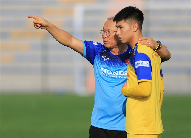Việt Nam arent afraid of UAE: midfielder Hùng