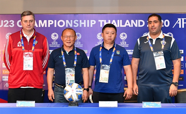 Việt Nam ready to face familiar foe UAE: coach Park