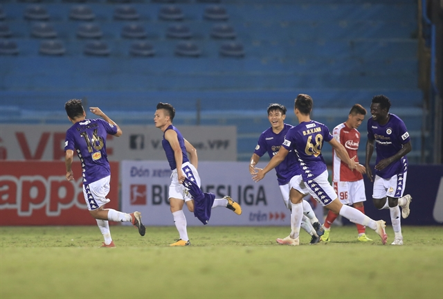 Hà Nội FC defeat HCM City FC in V.League 1