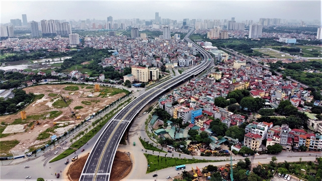 Another section of Hà Nội Ring Road No.3 opens to traffic