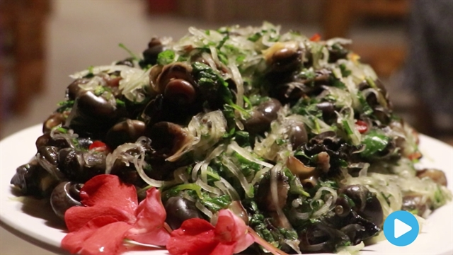 Nom Nom Vietnam - Episode 62: Mountain snail salad