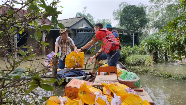 Central Retail donated relief materials to people hit by floods in Thừa Thiên-Huế