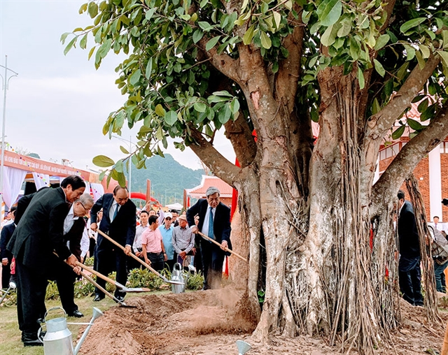 PM opens ancient stake conservation site